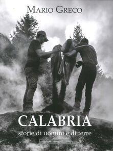 Calabria storie di uomini e di terre - copertina