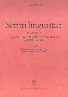 Listadelpopolo.it Scritti linguistici Image