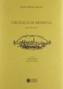 Cronaca di Modena. Vol. 2: Anni (1603-1611).