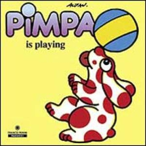 Pimpa is playing
