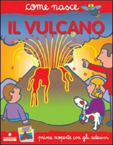 Cocktaillab.it Il vulcano. Con adesivi. Ediz. illustrata Image