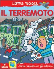 Warholgenova.it Il terremoto. Con adesivi. Ediz. illustrata Image