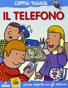 Adiaphora.it Il telefono. Con adesivi. Ediz. illustrata Image
