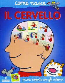 Atomicabionda-ilfilm.it Il cervello. Con adesivi. Ediz. illustrata Image