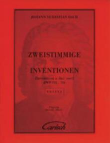 Invenzioni a 2 voci (abbado) - Johann Sebastian Bach - copertina