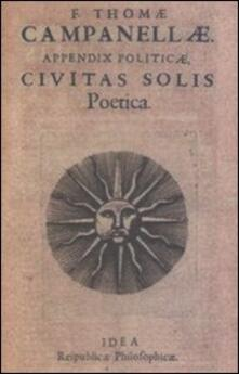 La città del sole - Tommaso Campanella - copertina