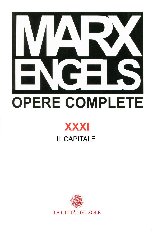 Opere complete. Vol. 31