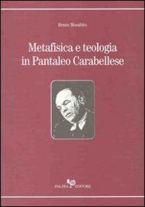 Metafisica e teologia in Pantaleo Carabellese