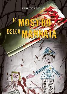 Il mostro della mannaia - FABRIZIO CAROLLO - copertina