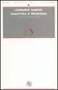 Dialettica e metafisica. Prospettiva su Hegel e Aristotele
