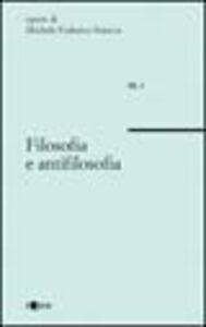 Filosofia e antifilosofia