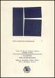 Filosofie per intersezione. Saggi su Aristotele, Leibniz, Peirce, Bloch, Heidegger, Ricoeur
