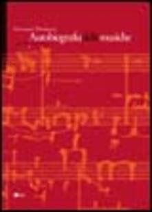 Autobiografia delle musiche - Giovanni Damiani - copertina
