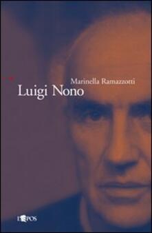 Luigi Nono - Marinella Ramazzotti - copertina