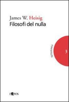 Librisulladiversita.it Filosofi del nulla Image
