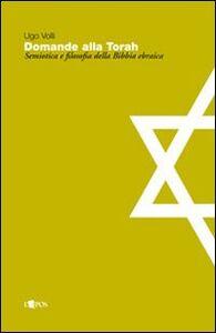 Domande alla Torah. Semiotica e filosofia della Bibbia ebraica