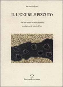 Il leggibile Pizzuto - Antonio Pane - copertina