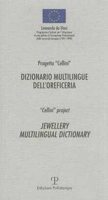 Dizionario multilingue dell'oreficeria - copertina