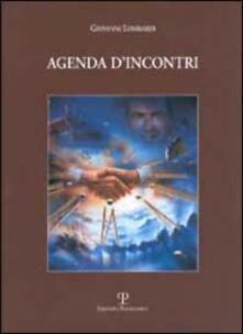 Agenda d'incontri - Giovanni Lombardi - copertina
