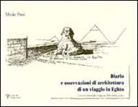 Diario e osservazioni di architettura di un viaggio in Egitto