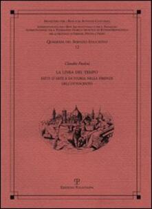 La linea del tempo. Fatti d'arte e di storia nella Firenze dell'Ottocento - Claudio Paolini - copertina