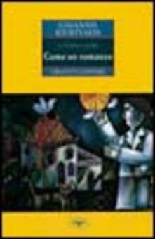 Come un romanzo - Ghiannis Kiurtsakis - copertina