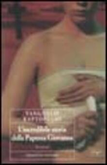 L' incredibile storia della papessa Giovanna - Vanghelis Raptòpulos - copertina