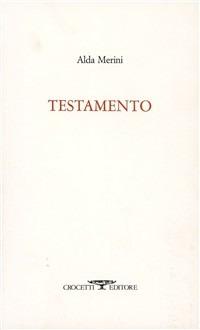 Testamento - Merini Alda - wuz.it