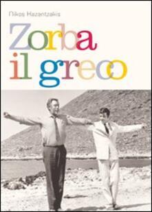 Zorba il greco - Nikos Kazantzakis - copertina