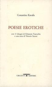Poesie erotiche. Testo greco a fronte