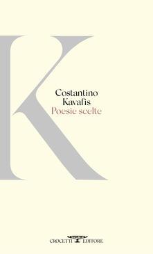 Poesie scelte - Konstantinos Kavafis - copertina