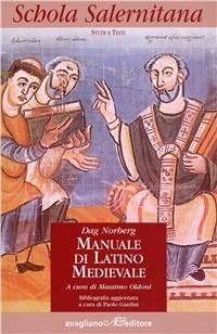 Manuale di latino medievale - Norberg Dag - wuz.it