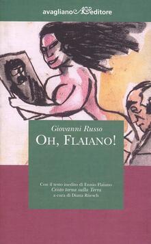 Oh, Flaiano! - Giovanni Russo - copertina
