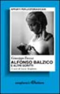 Alfonso Balzico e altri scritti