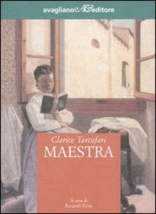 Maestra - Clarice Tartufari - copertina
