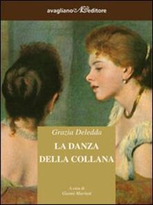 La danza della collana - Grazia Deledda - copertina