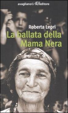 La ballata della Mama Nera - Roberta Lepri - copertina