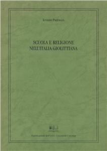 Scuola e religione nell'Italia giolittiana