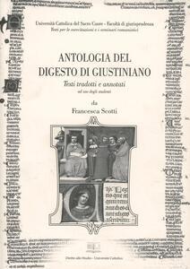 Antologia del Digesto di Giustiniano