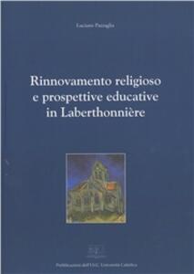 Rinnovamento religioso e prospettive educative in Laberthonnière