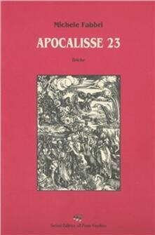 Apocalisse 23 - Michele Fabbri - copertina