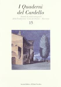 I quaderni del Cardello. Vol. 15