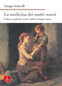 Radiospeed.it La medicina dei nostri nonni. Cultura e pratiche curative della montagna veneta Image