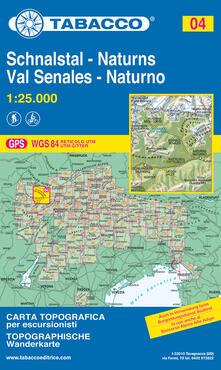 Nicocaradonna.it Val Senales 1:25.000 Image