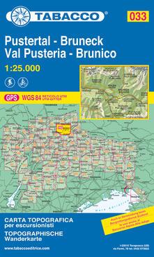 Premioquesti.it Brunico e dintorni 1:25.000 Image