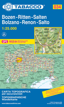 Winniearcher.com Bolzano. Renon 1:25.000 Image