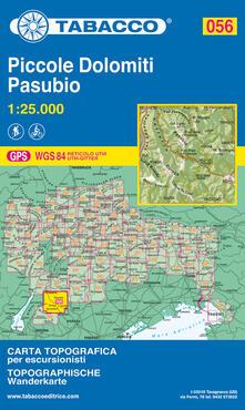 Grandtoureventi.it Piccole Dolomiti-Pasubio. 1:25.000 Ediz. italiana e tedesca Image