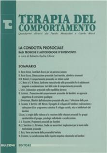 La condotta prosociale. Basi teoriche e metodologie d'intervento