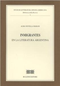 Inmigrantes en la literatura argentina