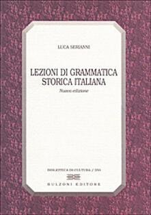 Ilmeglio-delweb.it Lezioni di grammatica storica italiana Image